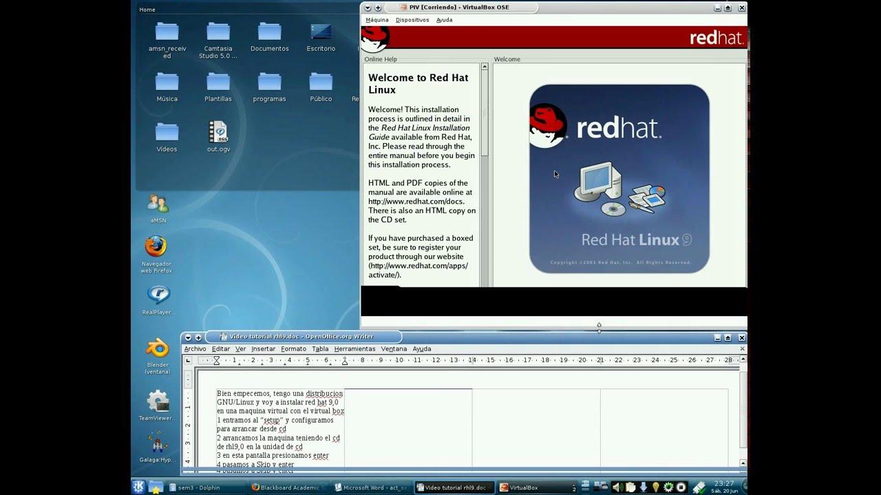 tutorial instalacion linux red hat 9 youtube rh youtube com red hat linux manual red hat linux lab manual pdf