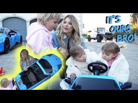 Twins Steal Mini Jake Pauls Lamborghini Youtube