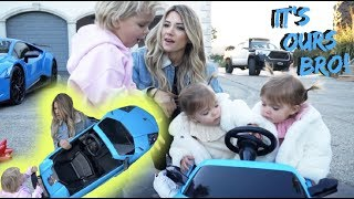 TWINS STEAL MINI JAKE PAULS LAMBORGHINI