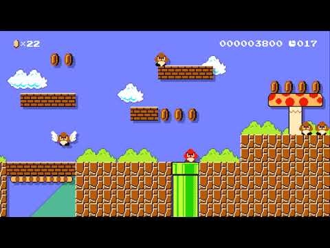 The Brown Mushroom Rise 30s By Beccy Super Mario Maker No Commentary 1bb Youtube
