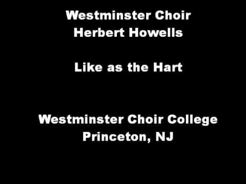 Howells: Like as the Hart