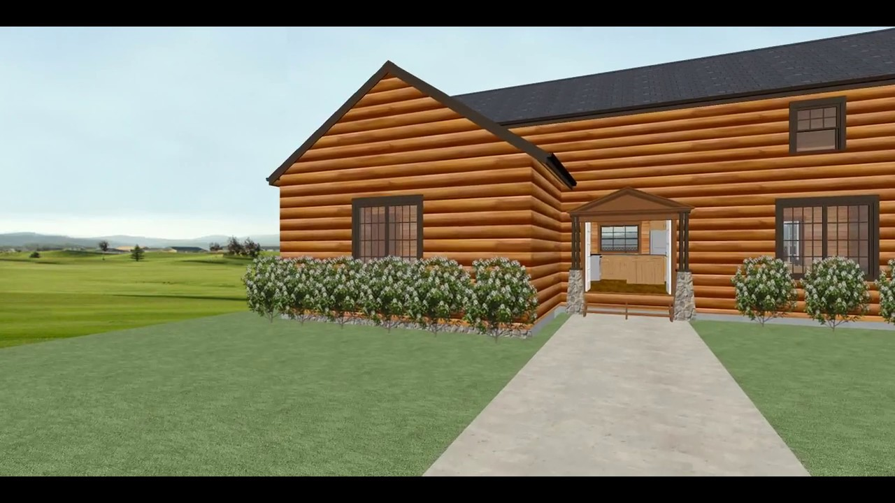Conestoga Log Cabin Kit Tour - McKinley 44' 6