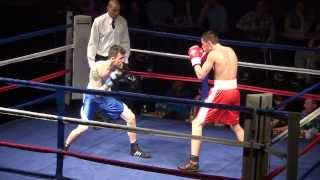 Midland Area Welterweight Title Boxing George Hall vs Damien Grice