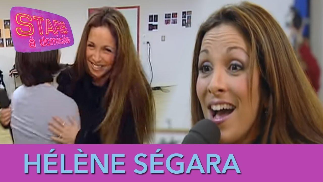 Hélène Ségara interrompt un cours de danse ! - Stars à domicile