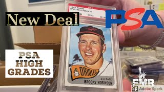 New Deal Purchase of PSA High Grade Cards