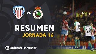 Resumen de CD Lugo vs Real Racing Club (1-1)