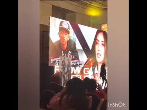 """FLOW G AND ANGELICA YAP SWEETNESS OVERLOAD """"FRONTROW 5TH ANNIVERSARY IN DUBAI"""