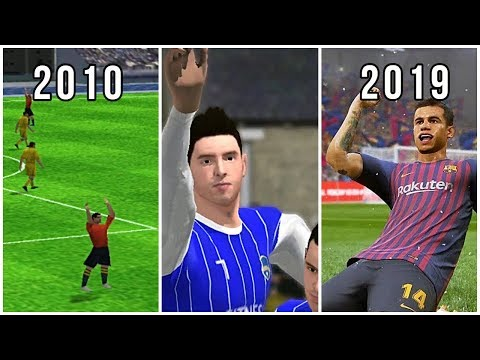 Evolution Of Android/iOS Football Games 2010-2019