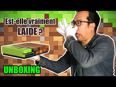 Console XBOX ONE S Minecraft : notre UNBOXING complet !