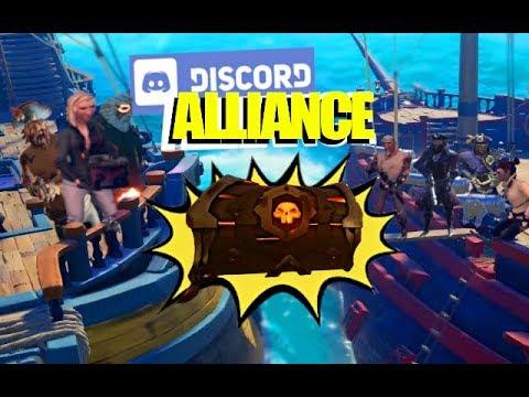 Stealing Ashen Athenas with Discord Alliance! - Sea of Thieves thumbnail