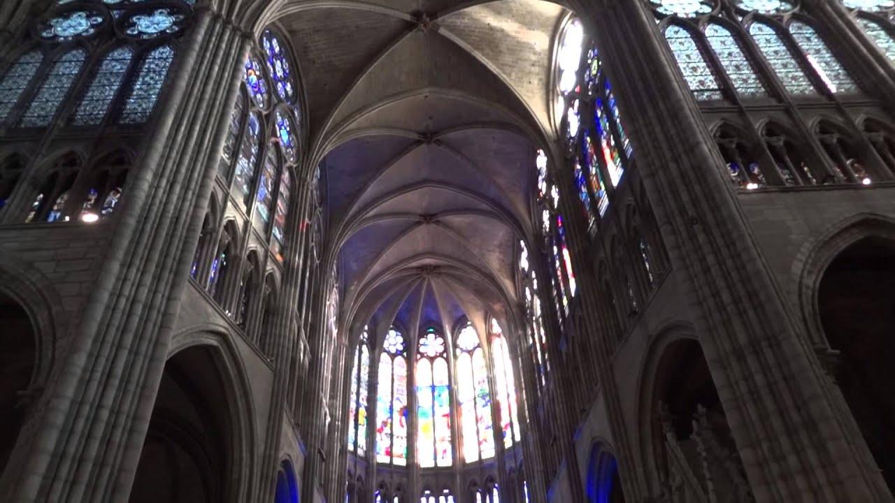 Abbey of Saint-Denis (Paris). Basilica of Saint-Denis. Sights of France 74