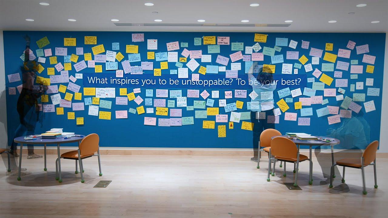 Inspiration Wall Timelapse Boston Children S Hospital Youtube