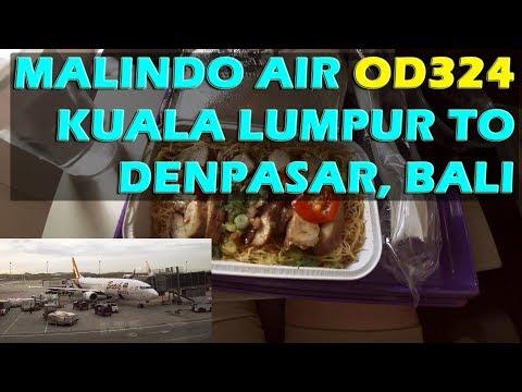 (2018) Malindo Air OD324 Kuala Lumpur to Denpasar, Bali #kuldps #klia #denpasar #bali