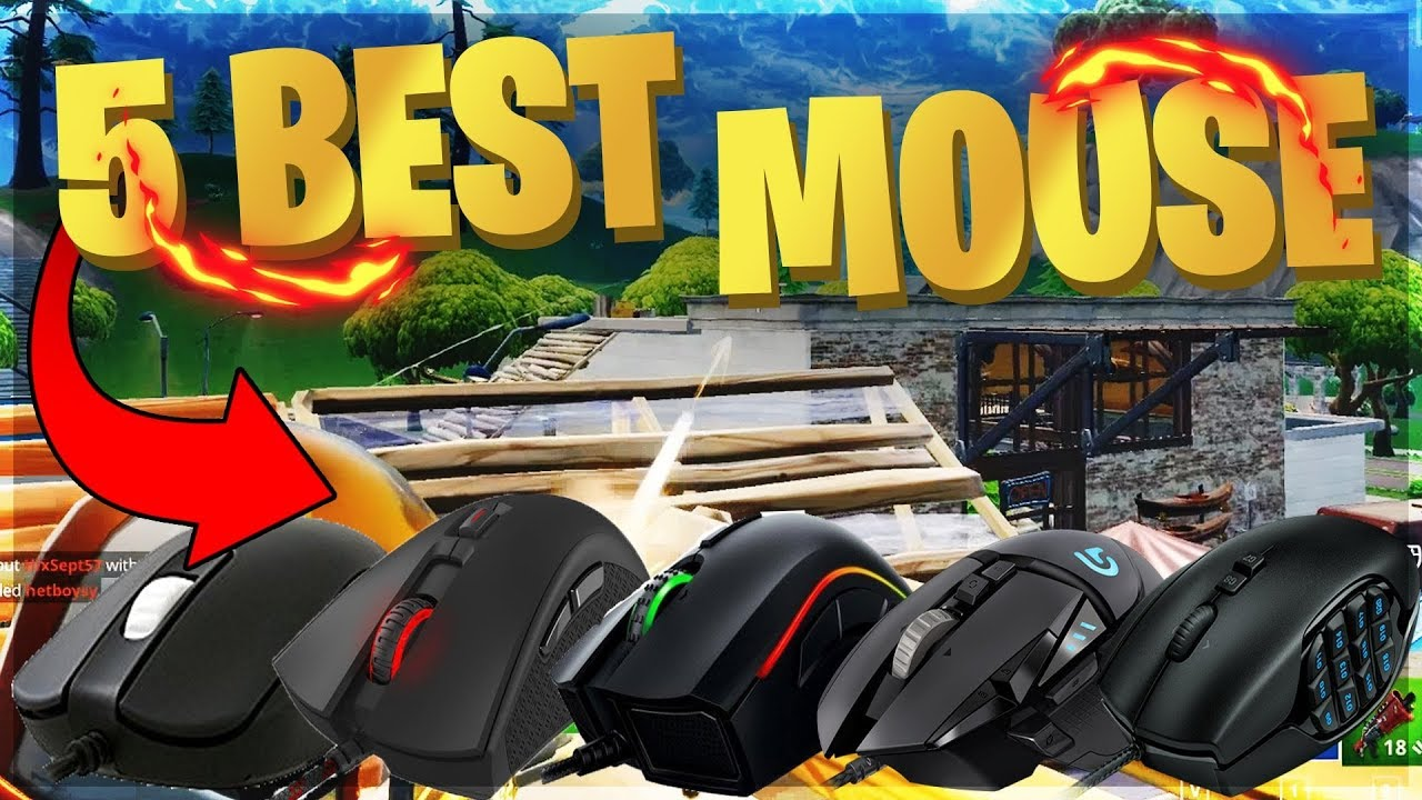 the 5 best mouse for fortnite to help you build like a pro player - best gaming mouse for fortnite building