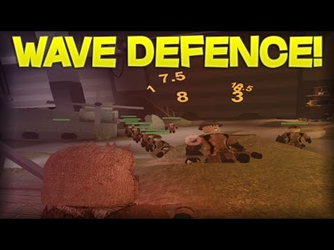 WAVE DEFENCE! Demented Defense ROBLOX Gameplay!