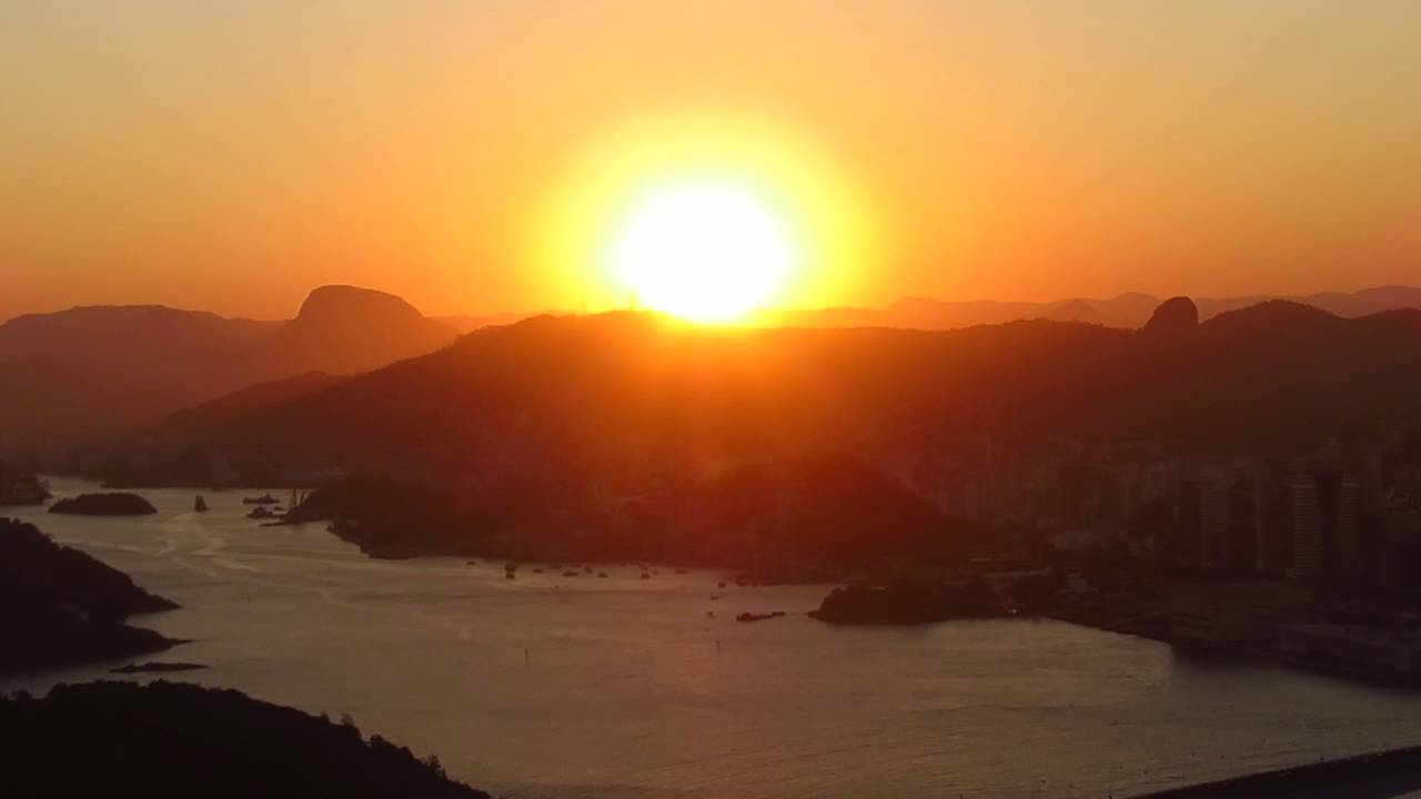 pôr do sol, Morro do Moreno- Vila Velha - 09 08 16 - YouTube 9947759ddd