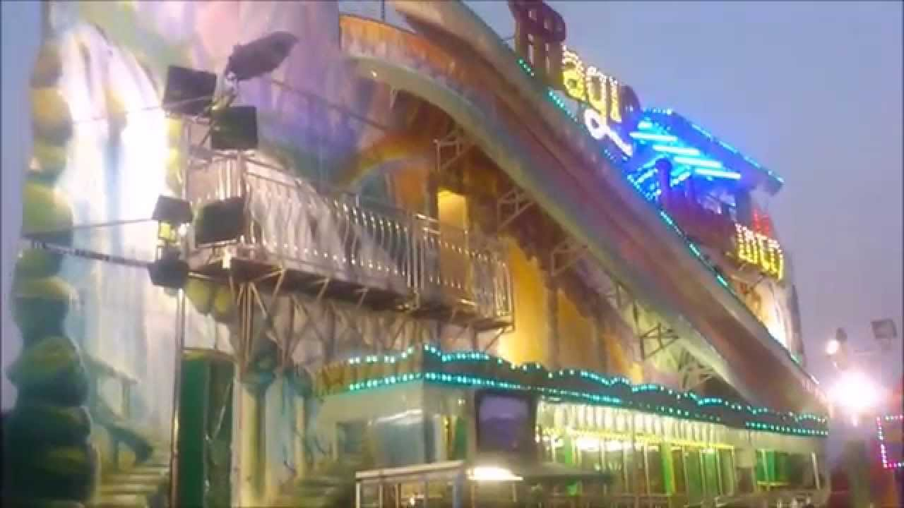 Magic labyrinth hd luna park desenzano 2015 youtube for Puerta 9 luna park