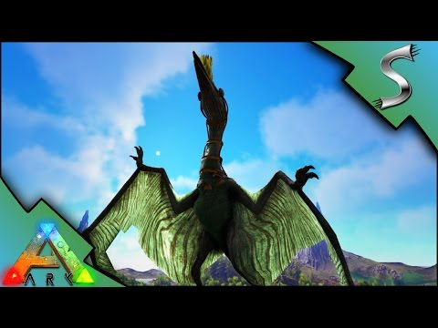 SOLO QUETZAL TAMING! QUETZAL BOX METHOD! MAX LEVEL QUETZ! - Ark: Survival Evolved [S3E44]