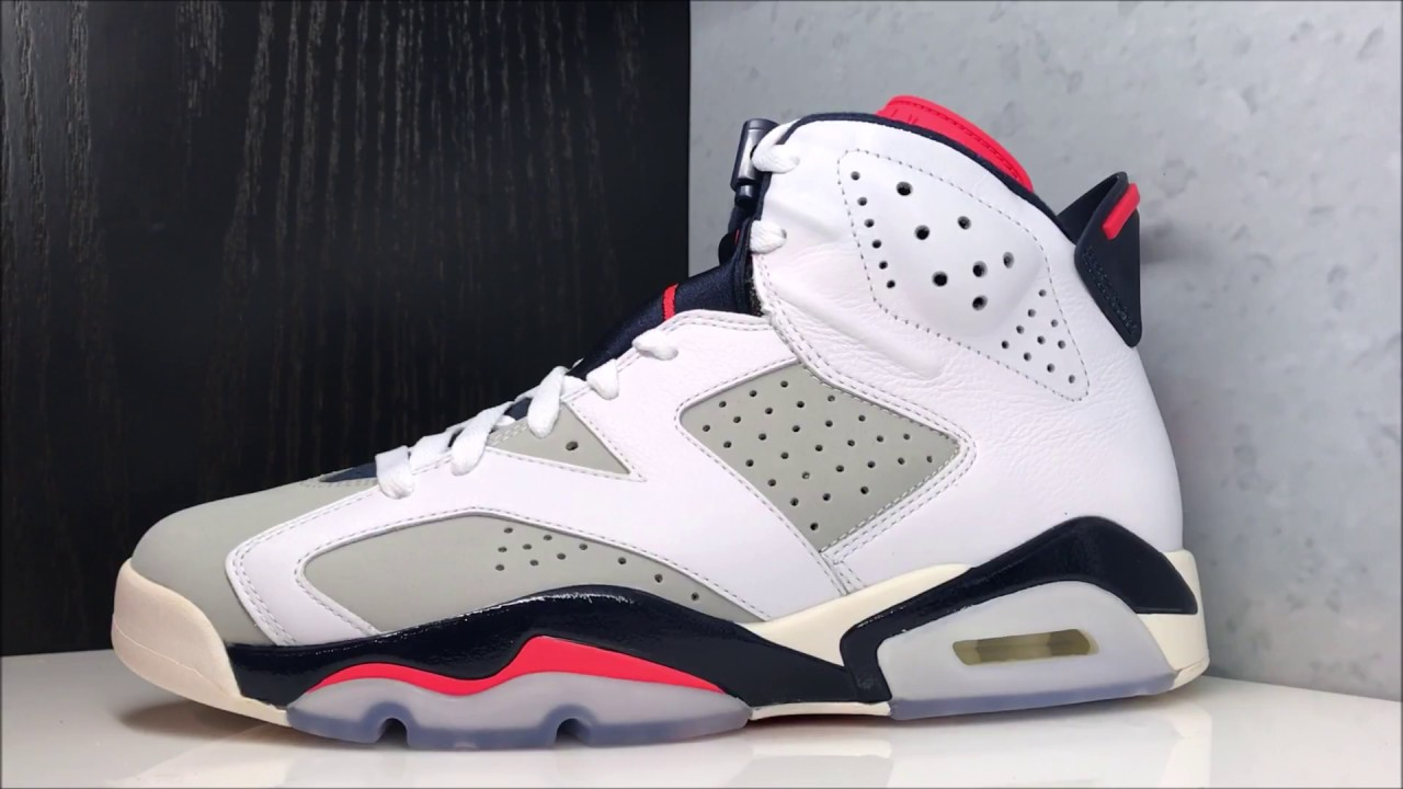 quality design a0d91 40e0a ... hot air jordan 6 tinker retro sneaker detailed review white infrared 23  icons neutral grey white