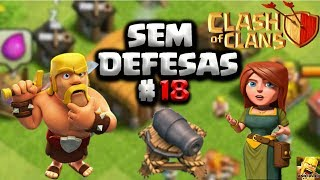 CLASH OF CLANS - EVOLUINDO UMA VILA SEM DEFESAS #18 UPANDO A FÚRIA E O ULTIMO QUARTEL
