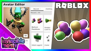 [EVENT] HOW TO GET THE ''BALLOON PAULDRONS'' | Roblox: Pizza Party Event