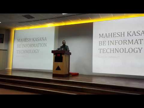 Mahesh Kasana BE IT Army institute of Technology, Pune