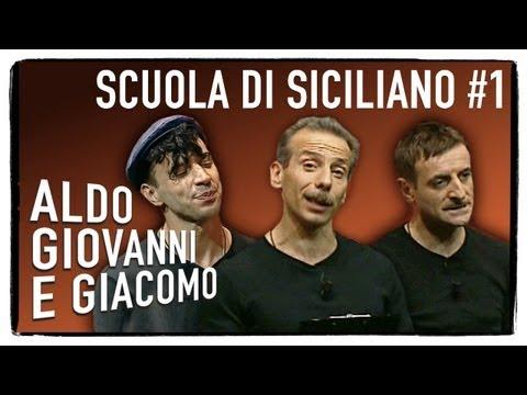 Scuola di siciliano (1 di 3) - Tel chi el telun | Aldo Giovanni e Giacomo