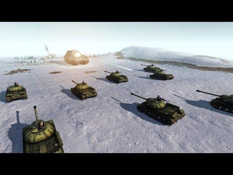 Epic WWII Prototype Tank Battle - Final Evacuation Defense | Men of War: Assault Squad 2 Gameplay