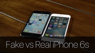 Fake vs Real iPhone 6s!