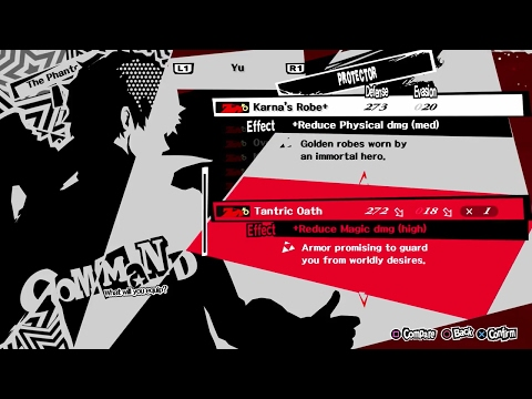 Persona 5 How to get the Strongest Armors in the Game