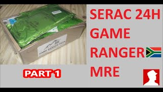 South African Ration Review: SERAC 24H Game Ranger Pack Menu 2 part 1 of 2