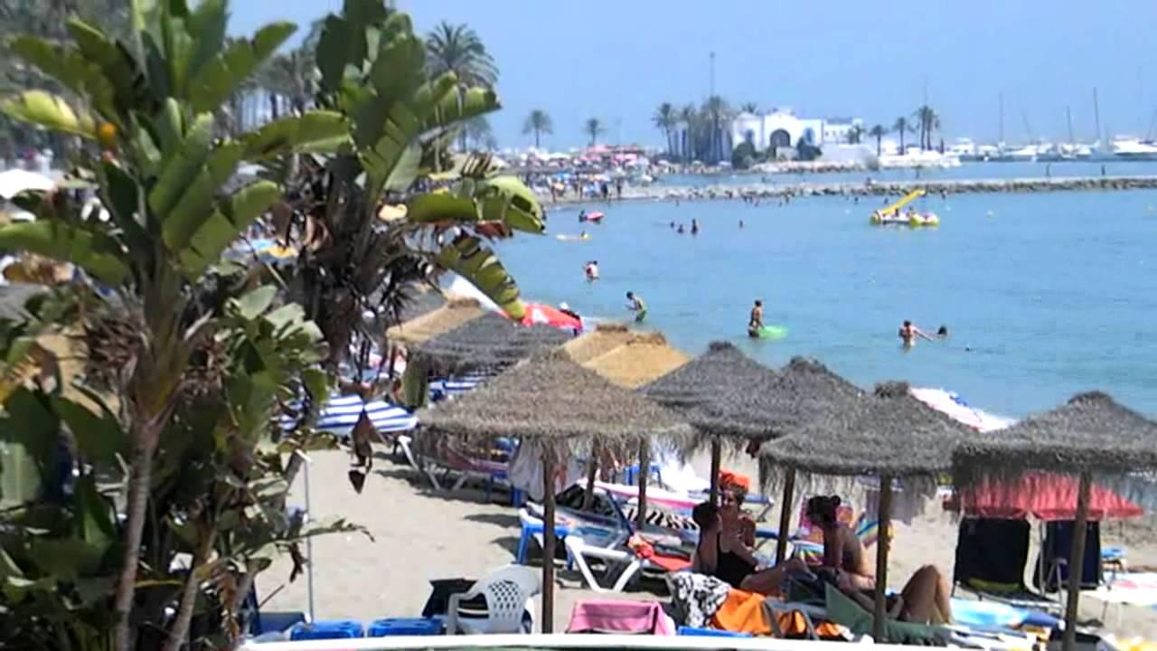 fotos playas de malaga espana