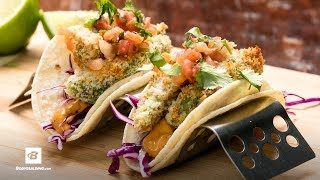 Fried Avocado Tacos | Fuel & Gainz by Fit Men Cook