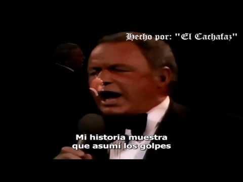"""Frank Sinatra """"My Way""""   Subtitulado Español"""