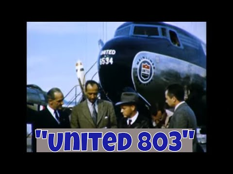 United 803 - United Airlines, DC-3, DC-6, Douglas, WWII 40660 HD