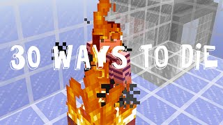 30 WAYS TO DIE IN MINECRAFT - PART 1