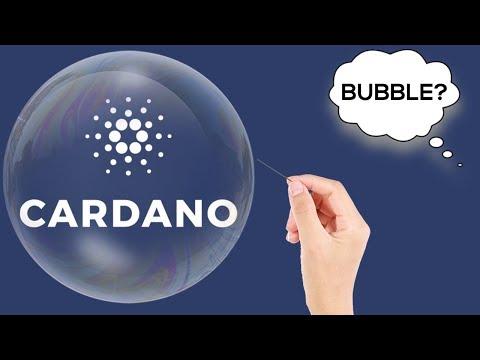 IS CARDANO A BUBBLE? (PRICE PREDICTION 2018)