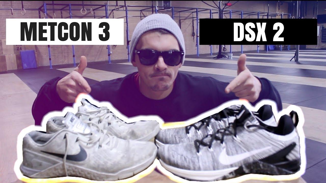 sports shoes ec264 6b472 Nike DSX Flyknit 2 VS. Nike Metcon 3 (WHICH IS BETTER   )