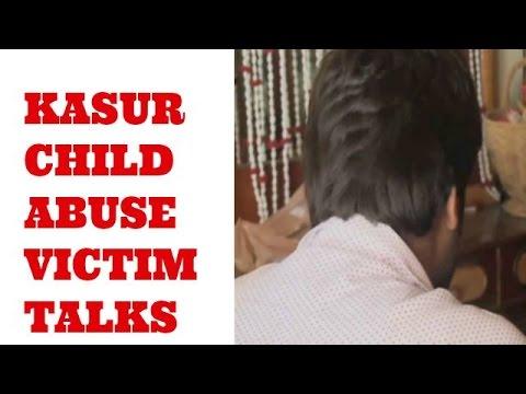 Kasur child abuse victim tells his story.