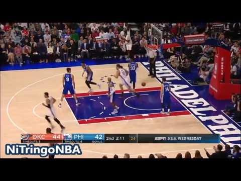 Oklahoma City Thunder vs Phila 76ers - Full Game Highlights | October 26, 2016 | NBA Regular Season