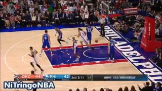 Oklahoma City Thunder vs Phila 76ers - Full Game Highlights | October 26, 2016 | NBA Regular Season