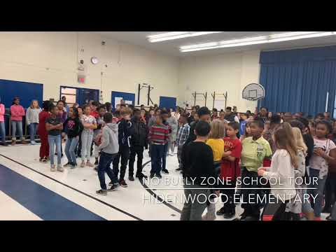 Young King Jai - No Bully Zone School Tour -  Hidenwood Elementary School