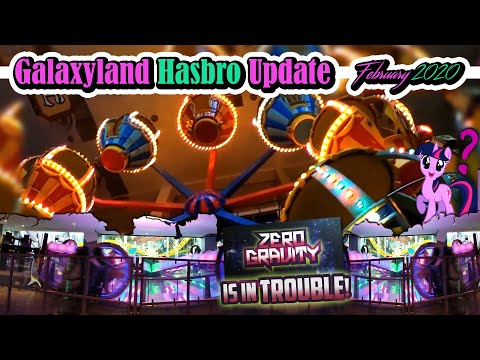 Galaxyland's Hasbro Update - Feb 2020 - Monopoly, Zero Gravity, And More! - Best Edmonton Mall
