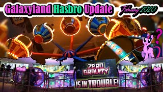 Galaxyland's Hasbro Update - Feb 2020 - Monopoly, Zero Gravity, and More! - Best Edmonton Mall