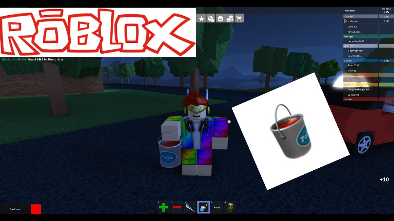 Is The Paint Bucket Worth It Roblox Work At A Pizza Place