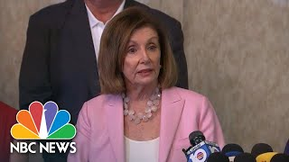 Nancy Pelosi: Trump 'Confessed To His Violation' By Asking For China's Help | NBC News