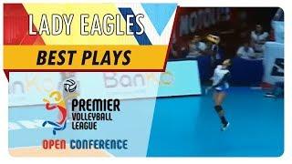PVL OC 2018: Ponggay Gaston's ace gives Kobe Paras reason to cheer! | ADMU | Best Plays