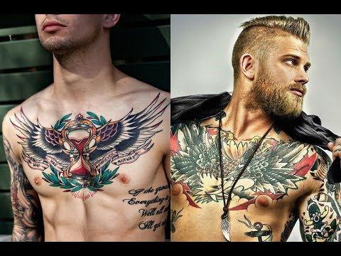6cd83fdef Best Chest Tattoos for Men 2018 - YouTube