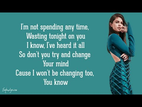 Same Old Love - Selena Gomez (Lyrics) 🎵