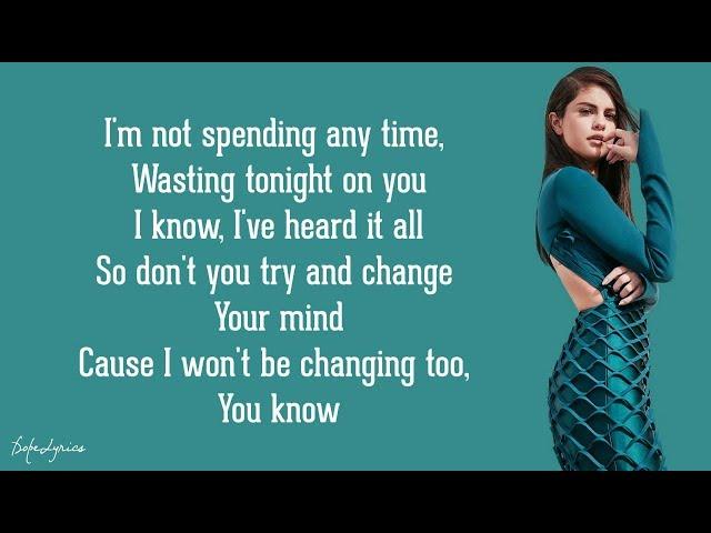 Same Old Love - Selena Gomez (Lyrics) 🎵